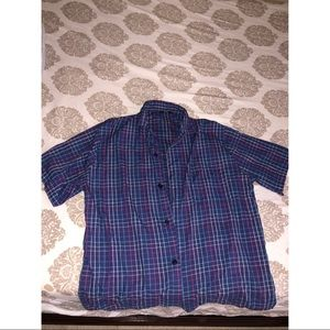Marks & Spencer Short Sleeve Button Down Shirt
